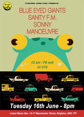 Gig Poster #300 - 16/06/15