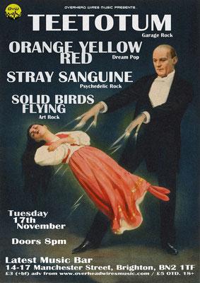 Gig Poster #366 - 17/11/15