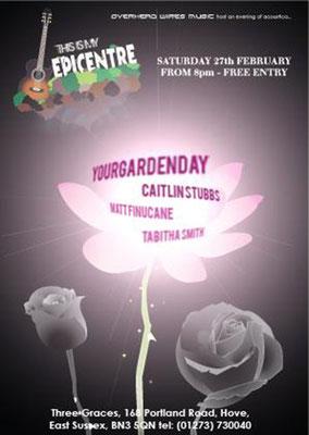 Gig Poster #012 - 27/02/10