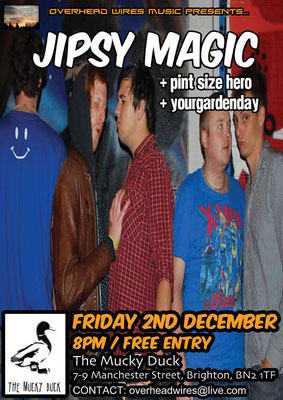 Gig Poster #042 - 02/12/11