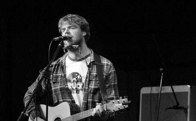 James Bandenburg @ The Brunswick, Hove - 22/07/15. Credit: Andy Voakes.