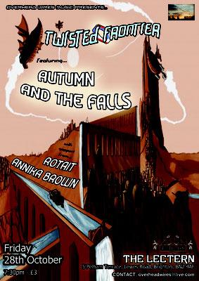 Gig Poster #037 - 28/10/11