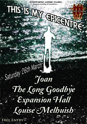 Gig Poster #025 - 26/03/11