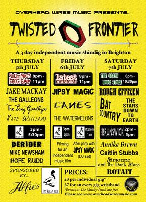 Gig Poster #079 - 05/07/12 - 07/07/12