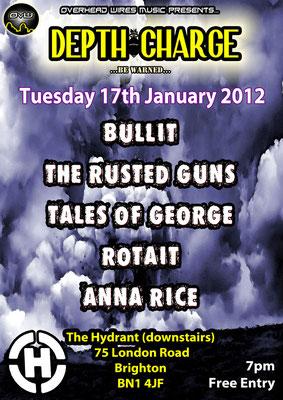 Gig Poster #046 - 17/01/12