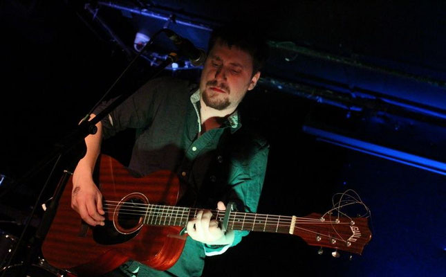 Paul Murray @ Latest Music Bar, Brighton - 01/04/16. Credit: Andy Voakes.