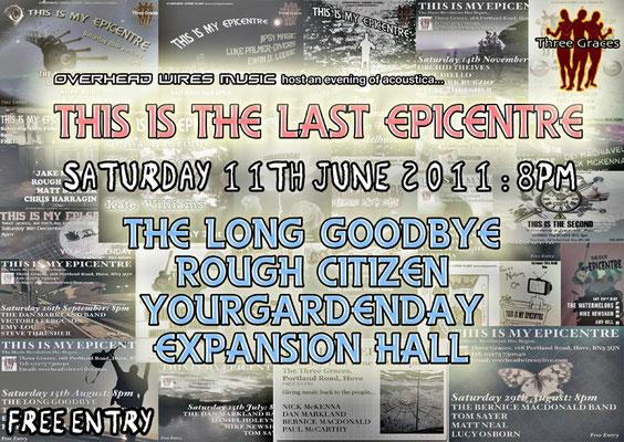 Gig Poster #029 - 11/06/11