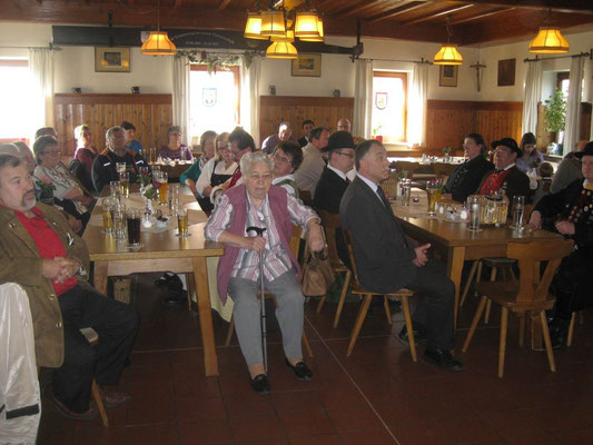 Jahreshauptversammlung 2014 mit Ehrungen