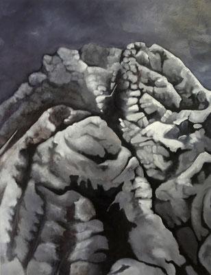 The Ascent, 2015, huile sur toile, 85 x 110 cm CHF. 2'300.-