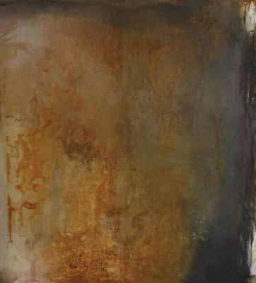 la nuit baisait les lèvres de l'aurore, techn. mixte sur toile, 125 x 135 cm