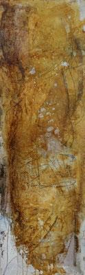 le murmure échoué, techn. mixte sur toile, 35 x 111 cm CHF 800.-