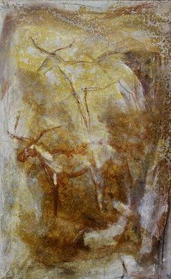 Fenga, tech. mixte sur toile, 62 x 97 cm CHF 900.-