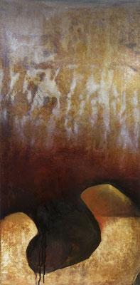 Katagena XX, tech. mixte sur toile, 50 x 100 cm CHF 950.-