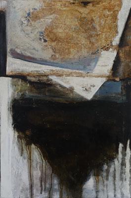 forêt de cendres, tech. mixte sur toile, 60 x 90 cm CHF 900.-