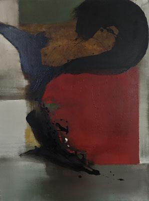 le geste, tech. mixte sur toile, 59 x 78 cm CHF 800.-