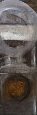 reflets, tech. mixte sur toile, 40 x 120 cm CHF 900.-