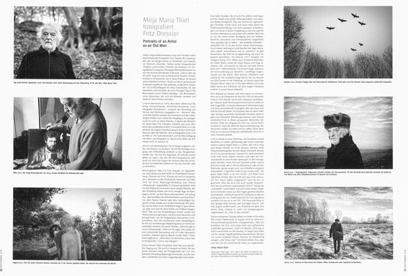 Portrait of an Artist as an Old Man, Portfolio (Fotos und Text), Photonews 02/2019