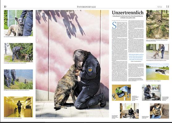 Unzertrennlich, Reportage (Fotos und Text), Weserkurier Bremen Juli 2018