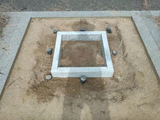 地下の石棺