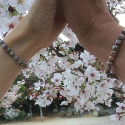 万成石ブレスレット-Malet-マレ