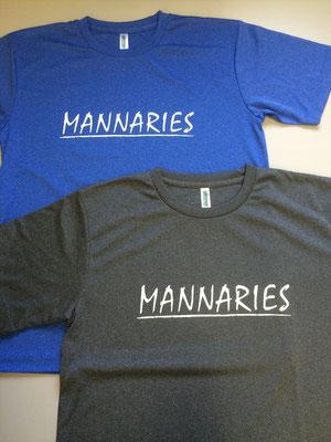 mannariesTシャツ