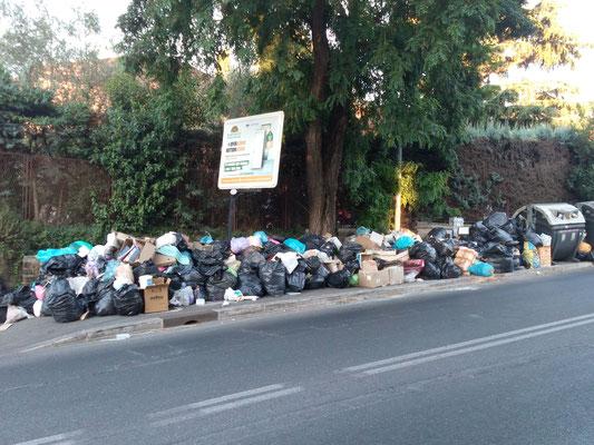 Via Cassia, angolo Via Bragaglia - 17 luglio 2017