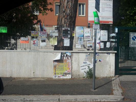 Via Cassia, Scuola Tomassetti (La Storta) (foto 26/05/16)