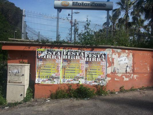 Via Cassia, Istituto San Gabriele (La Storta) (foto 26/05/16)