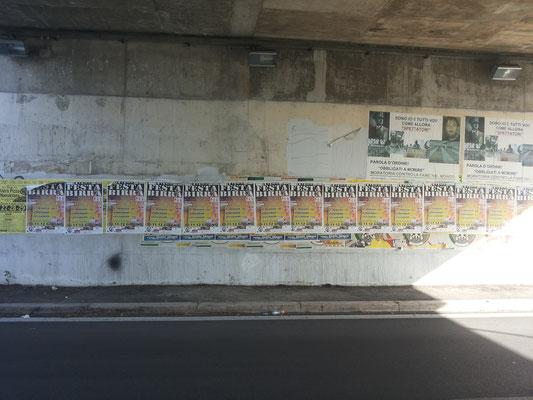 Via San Giuseppe da Copertino, Ponte Ferroviario (Giustiniana) (foto del 27/05/16)
