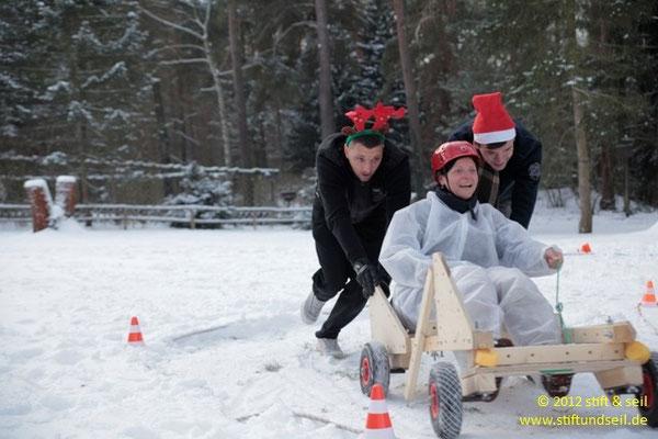 Weihnachtsfeier mit sports-outdoorguide.de
