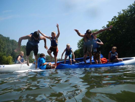 Kanuausflug für Kids mit SOG