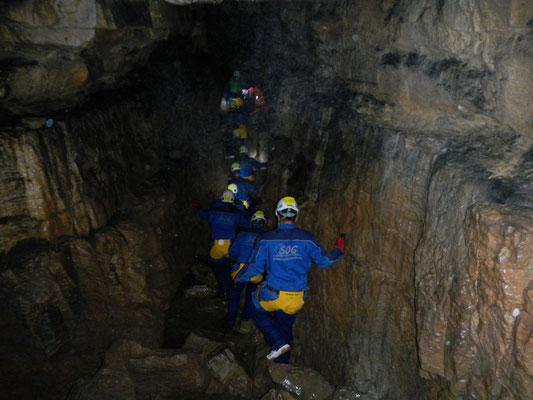 Gruppenbegehung der Falkensteiner Höhle