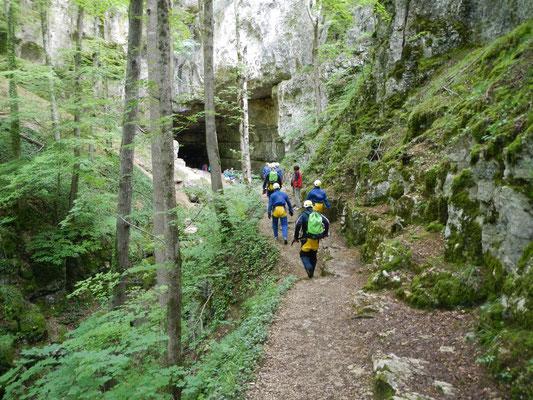 Falkensteiner Höhle Höhlenportal