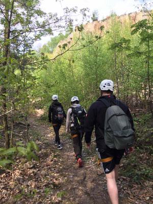 Kletterausflug Schriesheim SOG