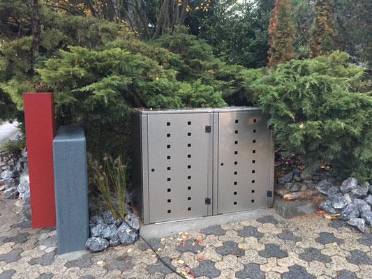 Box für Mülltonnen