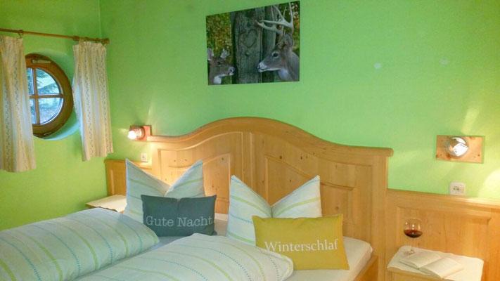 Wertach-Ferienwohnungen.de  Schlafzimmer Nr. 2 Ferienwohnung Sonnenschein
