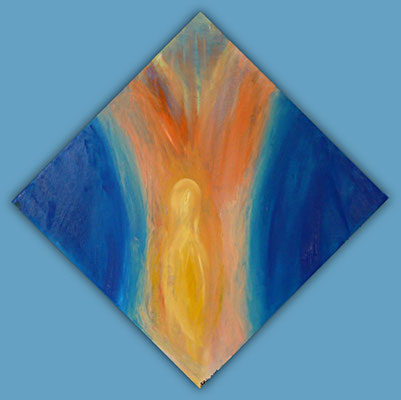 Angelo notte 40x40cm Rahmentiefe 4.5cm, CHF 190.-