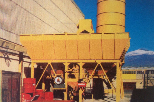 sistemi di pesatura su impianti di betonaggio Rovereto Trento