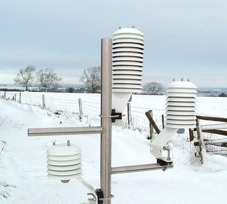 Capteur météo à ventilation naturelle - distribué par Agralis