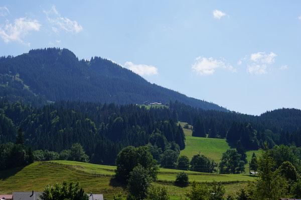 Haus Weidach Alpspitzblick