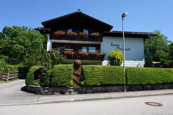 Haus Weidach Westansicht