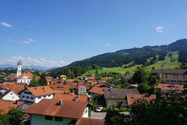 Nesselwang mit Alpspitz
