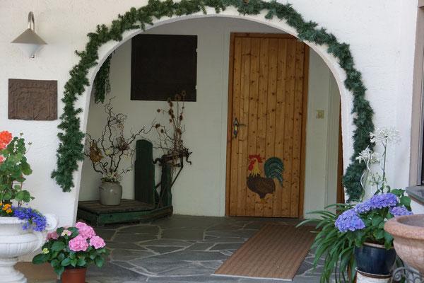 Haus Weidach Eingangsbereich