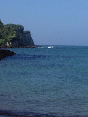 房総の海は碧い