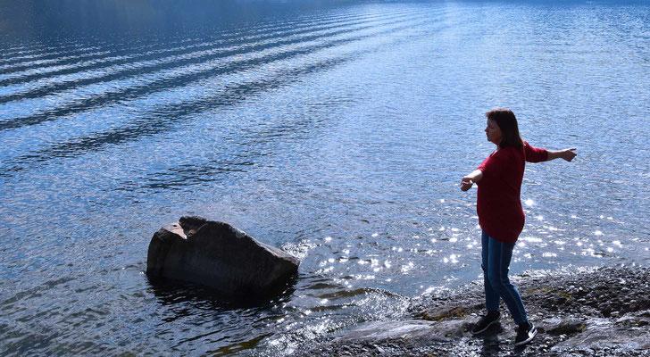 Mensch, Wasser, flow, innerflow-hypnosis, flowfly.photo