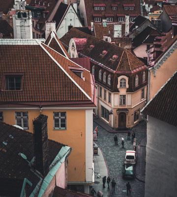 Tallinn von oben.