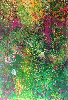 17-67 | mixed media on canvas | 70x100