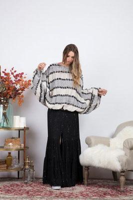 Pipite Sweater black, Length: XS/S: 58cm; M/L: 61cm, 100% Cotton, 149€