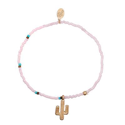 """Armband """"Cactus"""" soft pink 9€"""