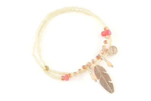 """Armband """"Funky Feather"""" 19€"""
